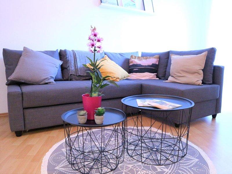 Gemütliche Souterrain Wohnung in Sörgenloch/Rhh. – semesterbostad i Nackenheim