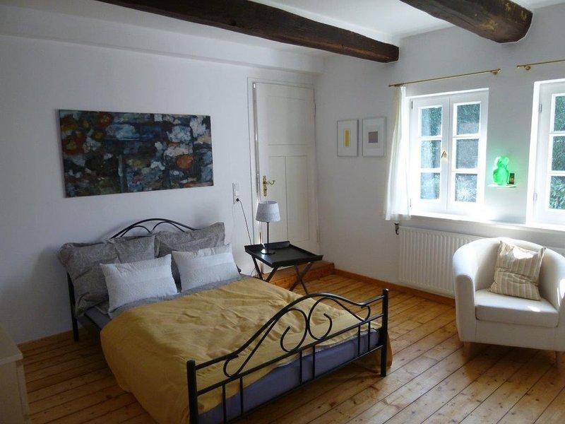 Wohnen im historischen Fachwerkhaus, alquiler de vacaciones en Bettingen