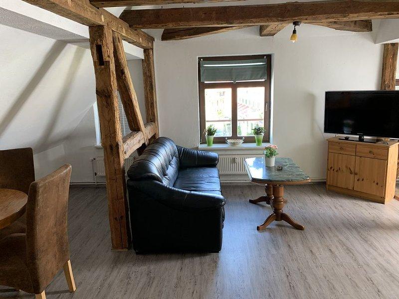 Gemütliche Ferienwohnung, zentral gelegen, casa vacanza a Admannshagen-Bargeshagen
