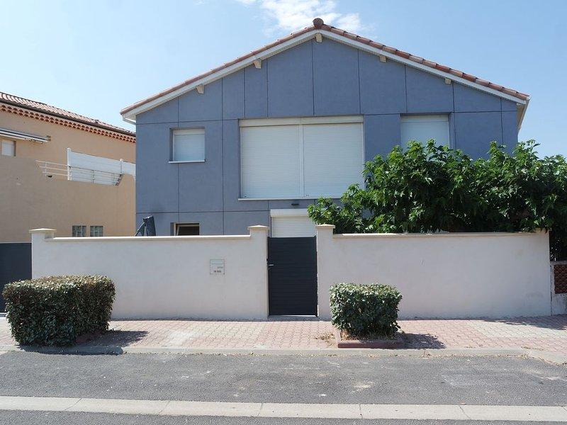 appartement 65m² RDC 6 couchages en front de mer, casa vacanza a Portiragnes