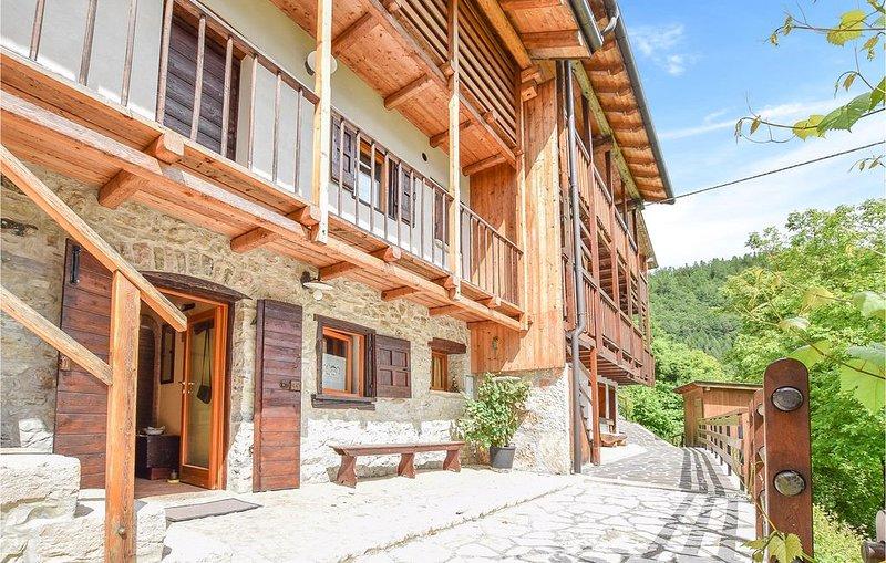 3 Zimmer Unterkunft in San Donato di Lamon BL, holiday rental in Tonadico