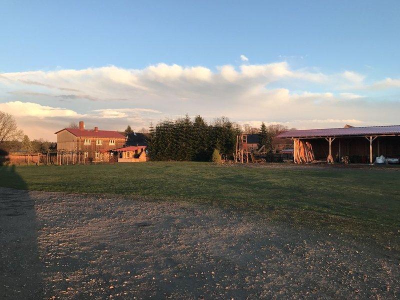 Ferienhaus Forsthof Buchholz, holiday rental in Sewekow