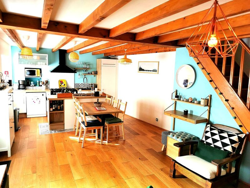 Belle maison de ville, holiday rental in Villefranque