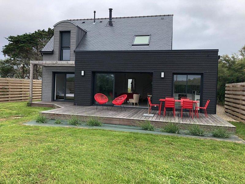 Belle maison neuve à Pors Carn, location de vacances à Penmarch