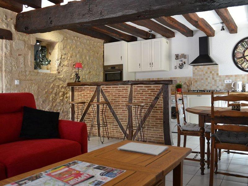 maison de charme au pied du château, holiday rental in Saint Regle