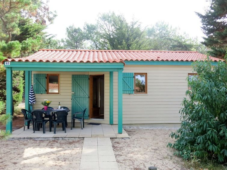 Ferienhaus Atlantique Chalet T3 (SHR200) in Saint Hilaire de Riez - 4 Personen,, holiday rental in Saint-Hilaire-de-Riez
