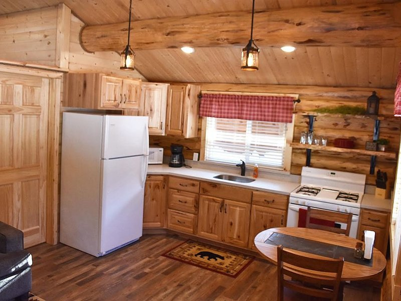 Newly built Log cabin, holiday rental in Soldotna
