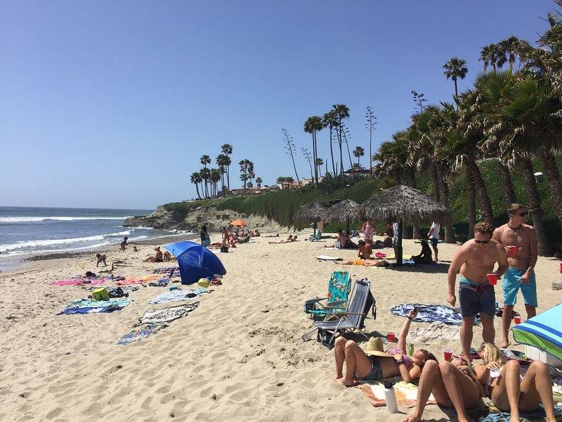 Las Gaviotas Private Beach.