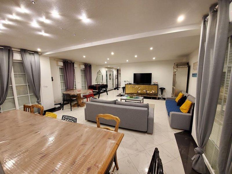VILLA - SPA, Sauna , BBQ, Babyfoot - 190m2, holiday rental in Ittenheim