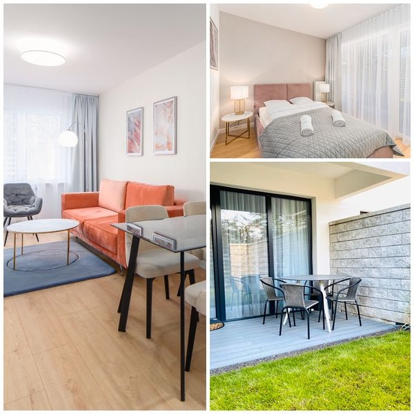 Apart111  Apartamenty Kolberg - Garden, location de vacances à Ustronie Morskie