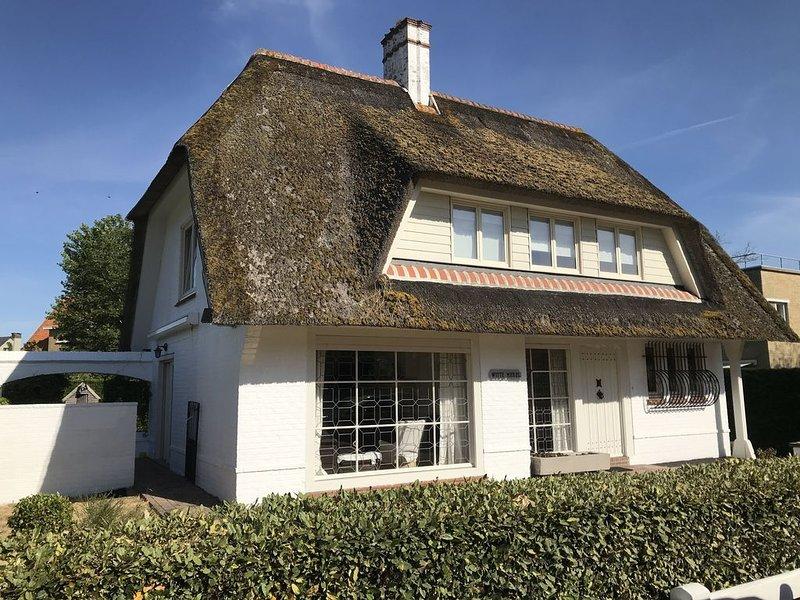 Witte Merel : Villa de charme, location de vacances à Nieuwpoort