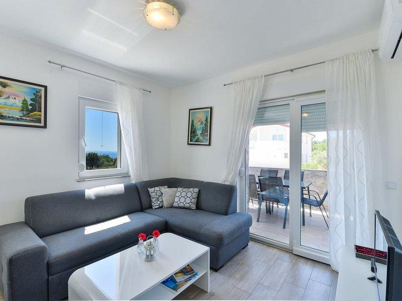 Crowonder Luxury Vir- Apartment A2 for 6 people, alquiler de vacaciones en Vir