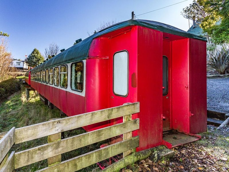 Ohakune Train Stay - Carriage A, alquiler vacacional en National Park Village
