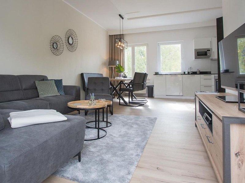 Modern apartment with balcony in Winterberg Züschen, vacation rental in Hallenberg