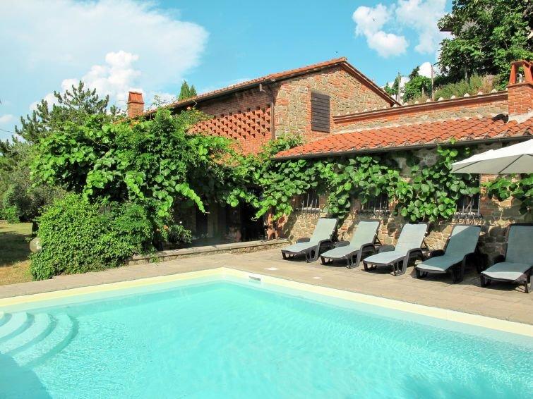 Ferienhaus Belvedere (GAI150) in Gaiole in Chianti - 6 Personen, 4 Schlafzimmer, vacation rental in Nusenna