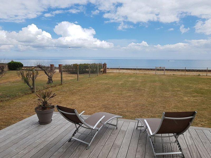 Maison en front de mer, Ferienwohnung in Manche
