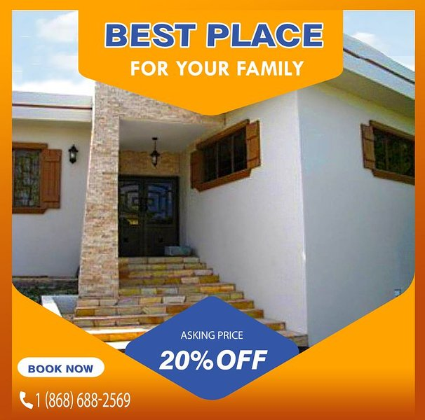 BOOK NOW and get BIGGER DISCOUNTS for 2020 - up to 40% OFF the rental cost!, holiday rental in Trinidad and Tobago