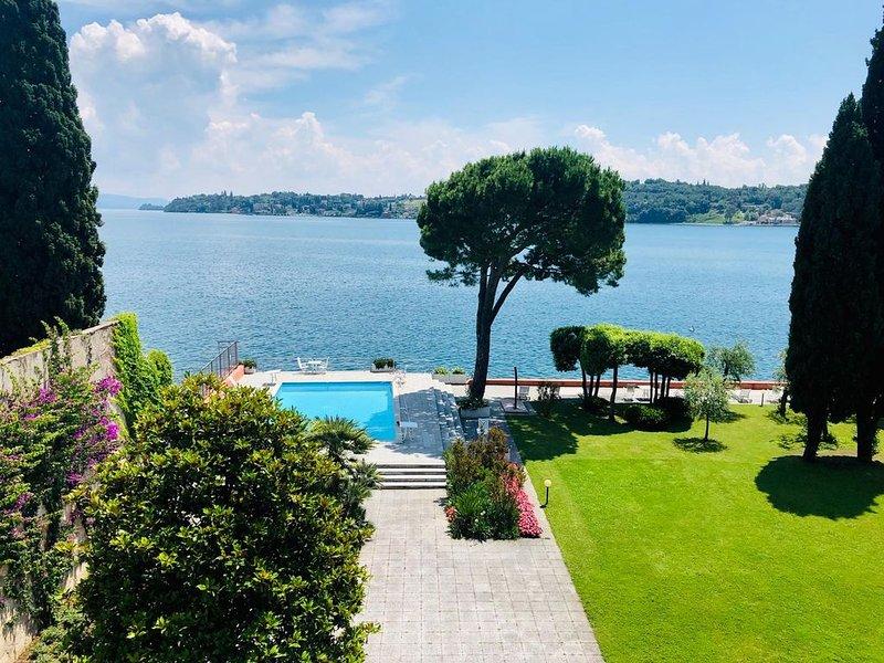 Appartamento direttamente a lago, holiday rental in Barbarano di Salo