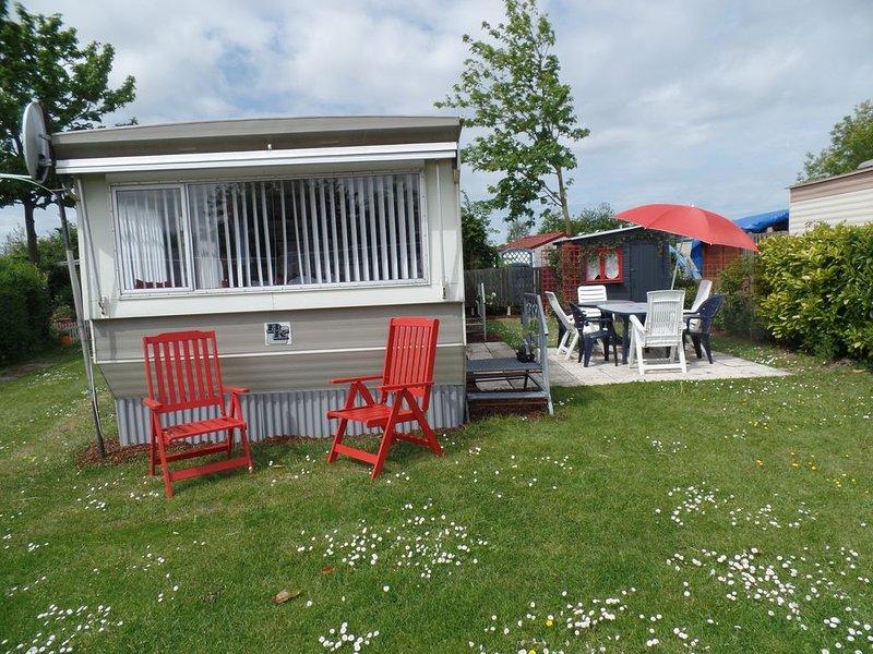 ERHOLUNG pur: Grevelinger Meer/ Norseestrand  in Min.Stacaravan für 4-5 Personen, holiday rental in Brouwershaven