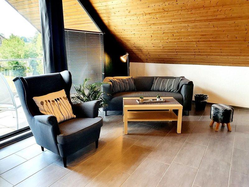 Appartement in Seevetal,familienfreundlich,stadtnah,ruhig,Balkon,WLAN,bis 3 Pers, vacation rental in Hanstedt