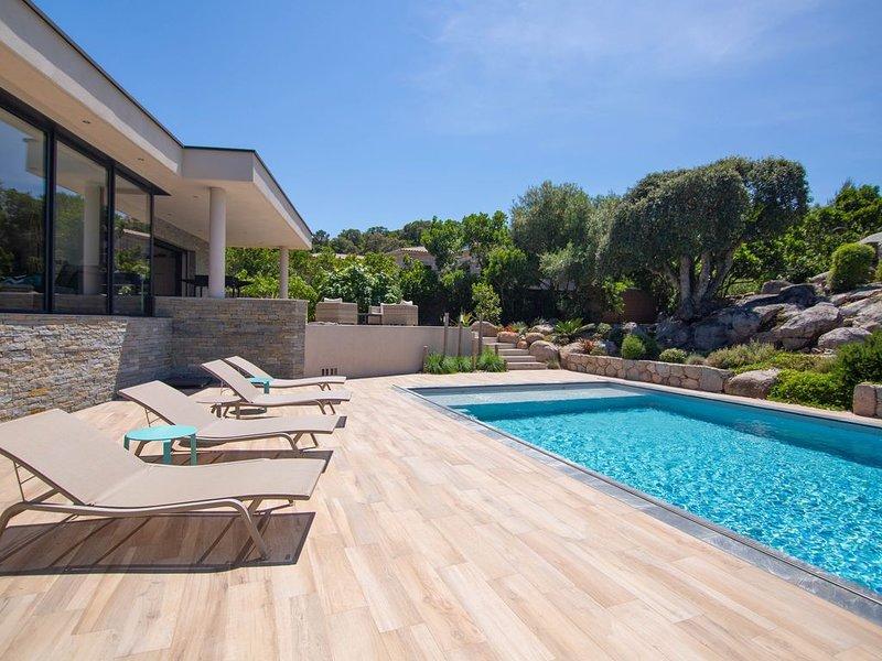 Villa  d'architecte de Standing, holiday rental in Pinarellu