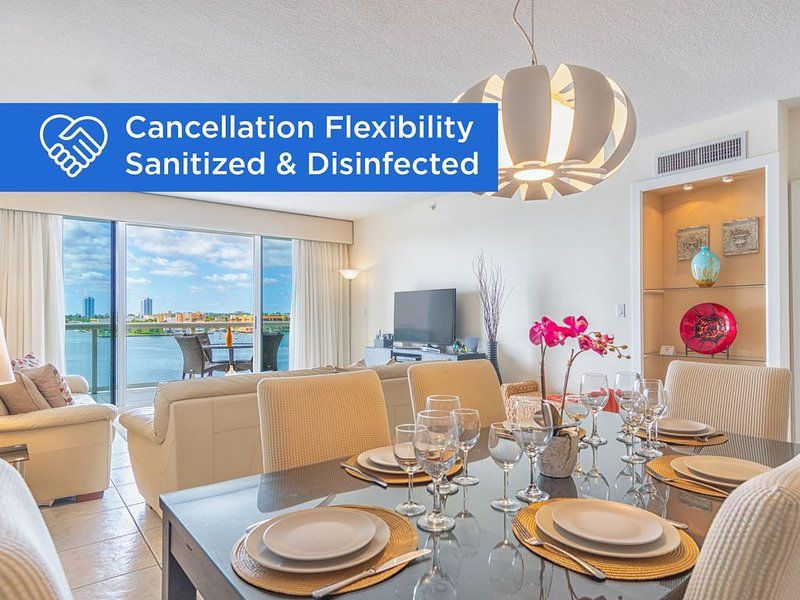 Cozy condo in boutique building | WIFI + Parking, location de vacances à Sunny Isles Beach