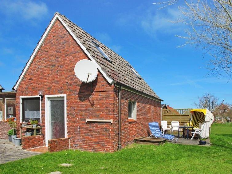 Vacation home Ferienhaus Osterkamp  in Friederikensiel/Wangerl., North Sea: Low, location de vacances à Friederikensiel
