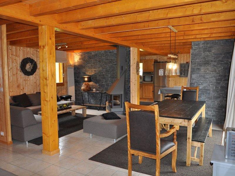 Chalet Namalou 9 couchages, location de vacances à La Chapelle d'Abondance