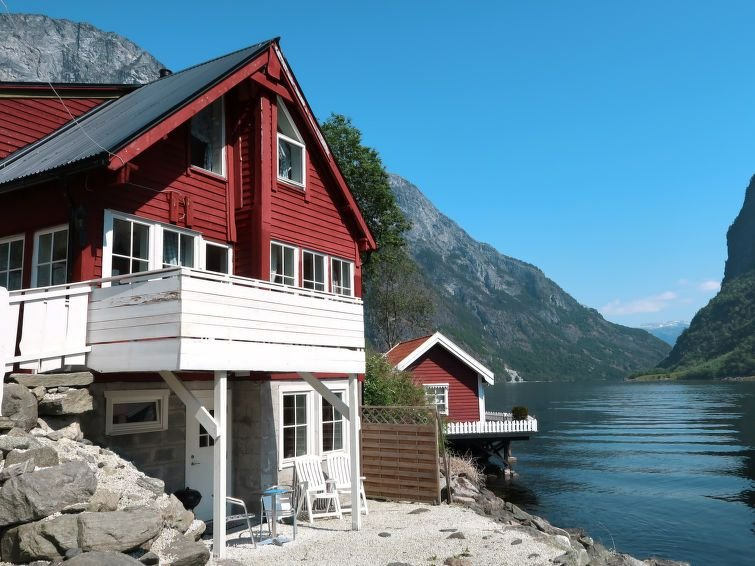 Ferienhaus Rødhette (FJS386) in Gudvangen - 6 Personen, 3 Schlafzimmer, location de vacances à Sogn og Fjordane