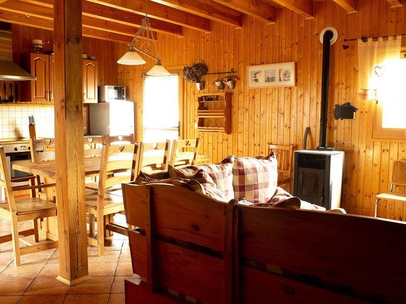 Chalet paradis 8 personnes à Métabief, aluguéis de temporada em Remoray-Boujeons