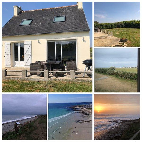 Maison de vacances au bord de la mer, location de vacances à Plozévet