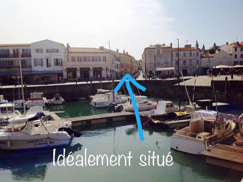 EOLE, une parenthèse enchantée sur  le Port de St Martin de Ré, location de vacances à Saint-Martin-de-Ré