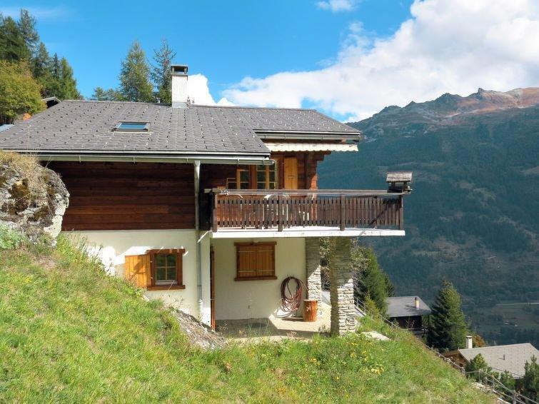 Ferienhaus Les Clarines in Grimentz - 6 Personen, 3 Schlafzimmer, aluguéis de temporada em Evolene
