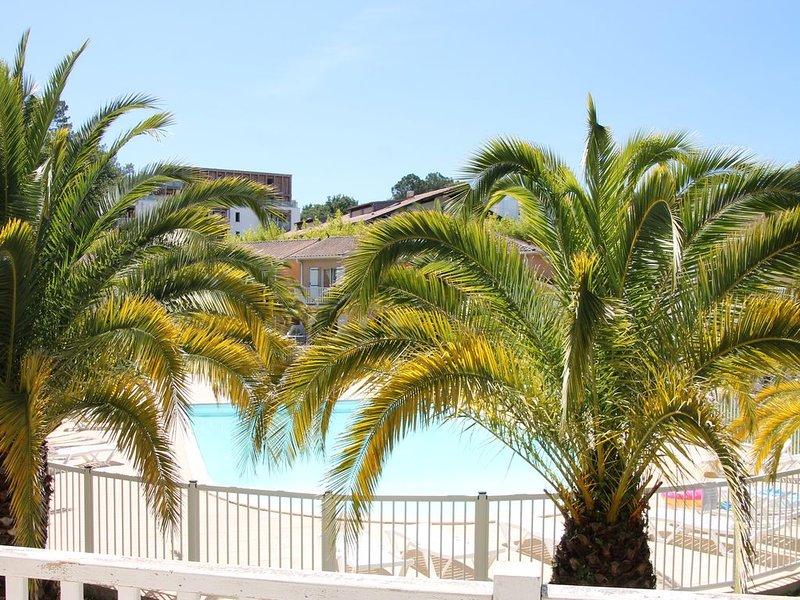 Anglet : Duplex dans résidence avec piscine, location de vacances à Anglet