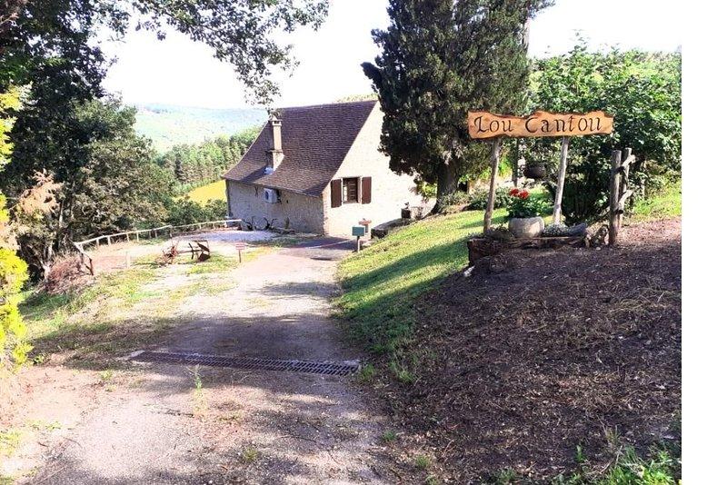 Location gîte 'Lou Cantou' en Périgord Noir, alquiler vacacional en Peyzac-le-Moustier