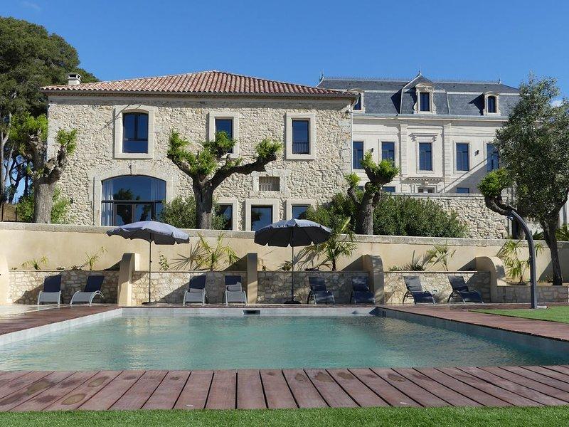 Château La Vidalle - Gite Massai, location de vacances à Lespignan