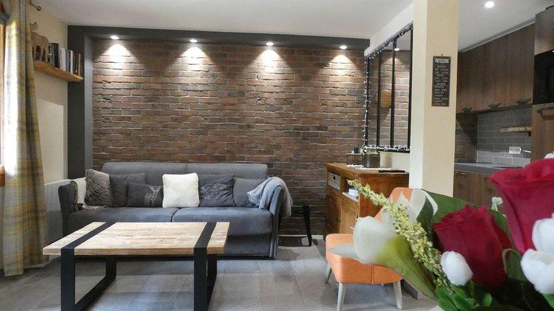 Appartement entièrement rénové pour la saison d'hiver ********* – semesterbostad i Valmorel