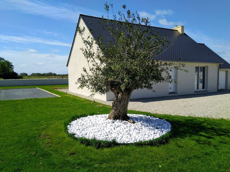 Maison de vacances près de la mer à Créances, holiday rental in Lessay