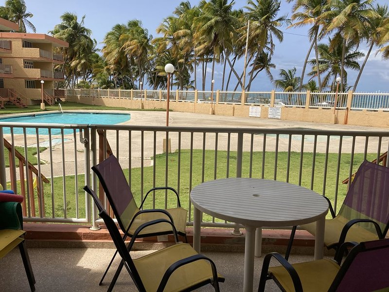 Just Add Rum beach condo, holiday rental in Luquillo