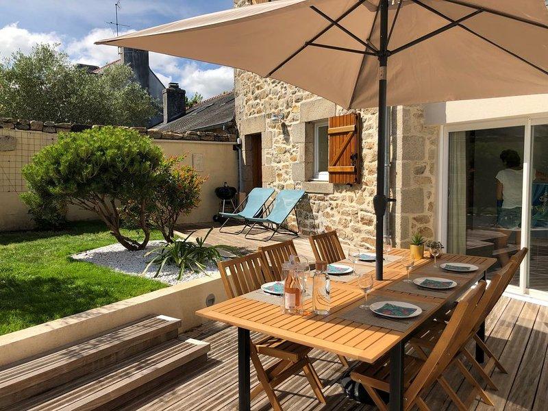 Confortable Maison à 100 m du joli Port de Sainte Marine, location de vacances à Sainte-Marine