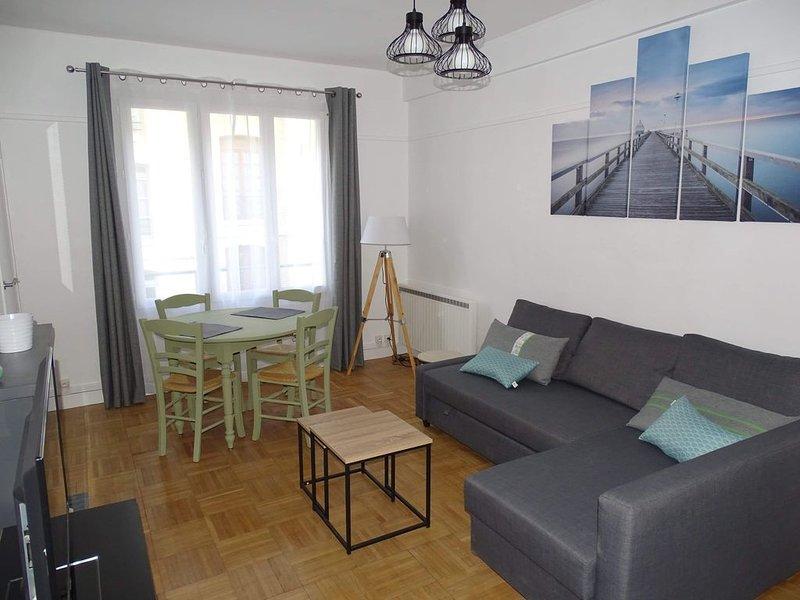 L' Agapanthe*** Joli appartement en bord de mer, alquiler vacacional en Dieppe