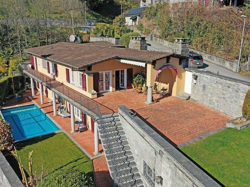 Relaxing private 5Br Family holiday house – semesterbostad i Mergoscia