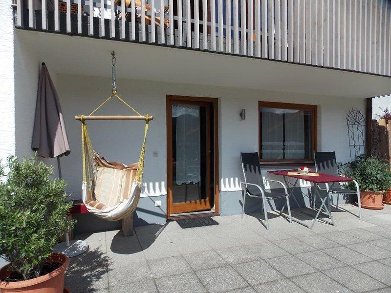 40qm-FeWo zwischen Arber & Osser mit Terrasse und WLAN, holiday rental in Bayerisch Eisenstein