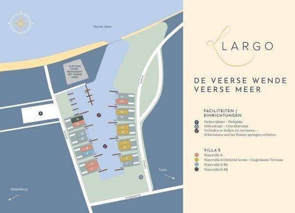 Doppelhaus-Watervilla mit 3 Schlafzimmern, 2 Badezimmern und Wasserterrasse, alquiler vacacional en Wolphaartsdijk