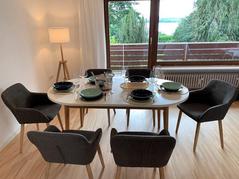 Traumhafte Seesicht und entspanntes Wohnen im Skandinavischen Stil, casa vacanza a Salem