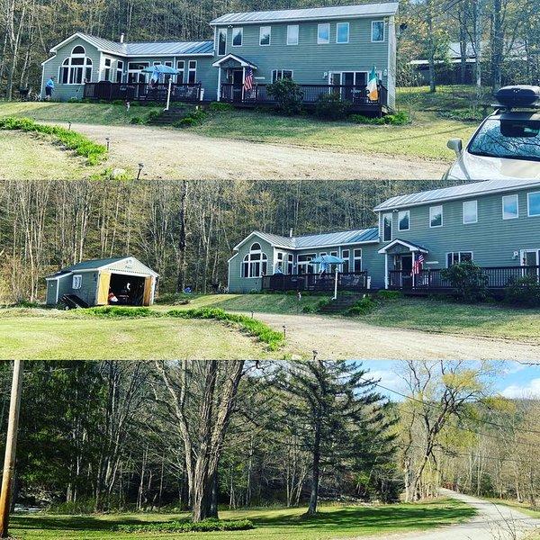 Home w/indoor jacuzzi, 2 min to ski, hike, lakes!!, vacation rental in Bridgewater