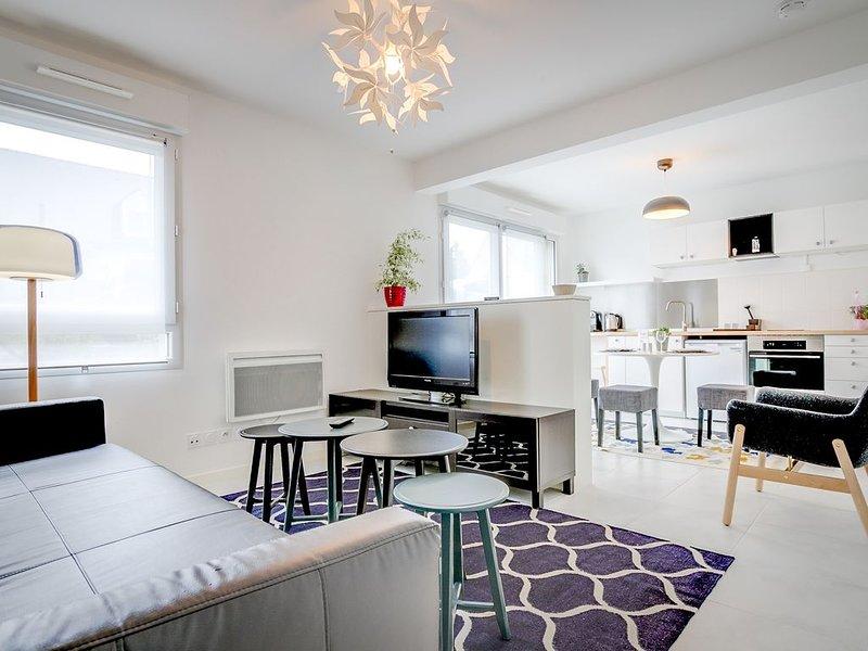 Le Cosmos - Studio et terrasse quartier Beaujoire - Nantes, location de vacances à Le Cellier