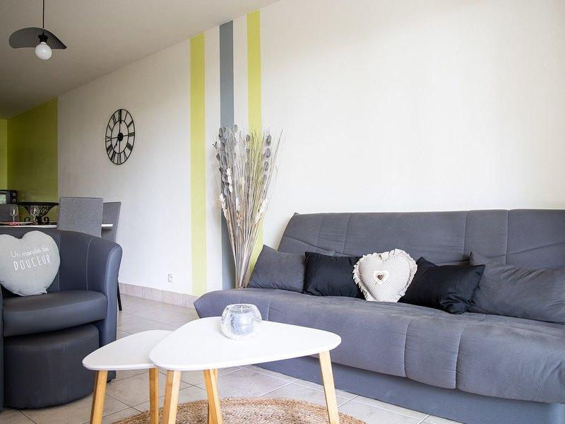 LE CHENE D'ARCAL, charmant T3 en rez-de-jardin à Vannes, holiday rental in Theix