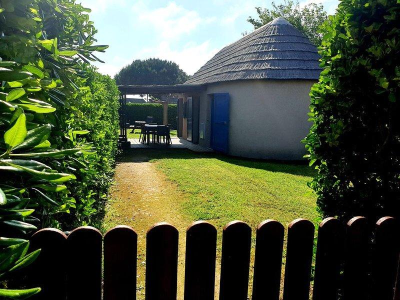Mas de Pêcheur climatisé, jardin privatif, piscine, sauna, hammam, jacuzzi, casa vacanza a Le Barcares
