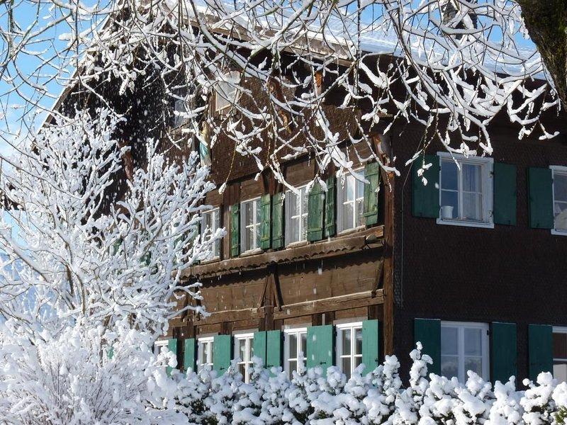 Ferienwohnung Immergrün, holiday rental in Seeg
